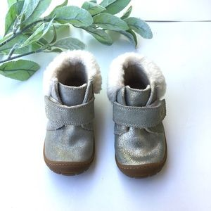 Ugg Baby Girl Silver Sparkle Boots
